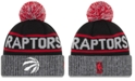 New Era Toronto Raptors Court Force Pom Knit Hat